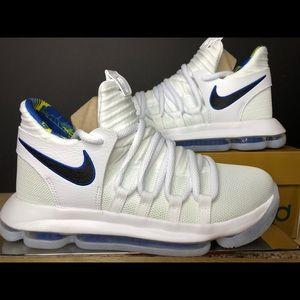 5aaaf4d2fad Nike. Nike Zoom KD 10 LMTD NBA (GS) Warriors AJ7781-101